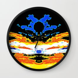 The Lunar Floret of the Half-Phase Dusk Wall Clock