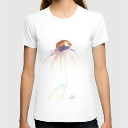 Daisy. Echinacea. watercolor T-shirt