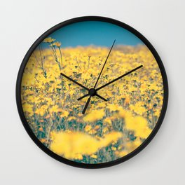Spring is coming! II Wall Clock