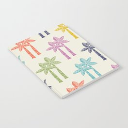 Palm Tree Pattern 22 Notebook