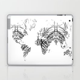 World Map by Fernanda Quilici Laptop & iPad Skin