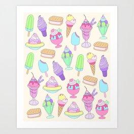 iScream Art Print