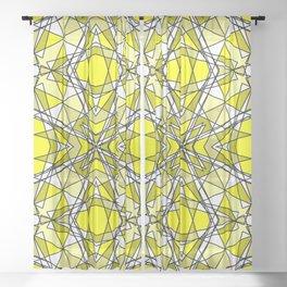 Yellow Topaz Sheer Curtain