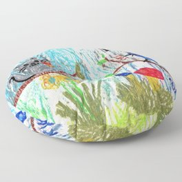 Songs of the Forest Floor Pillow