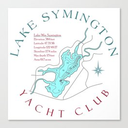 Symington Yacht Club Canvas Print