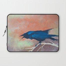 Crow Scream Laptop Sleeve