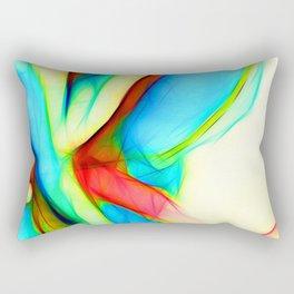 Womans`lap Rectangular Pillow