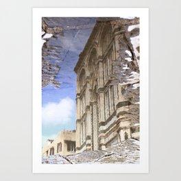 narcissistic duomo Art Print