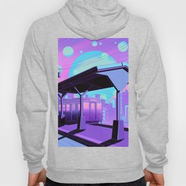 Train to Midnight City Hoody