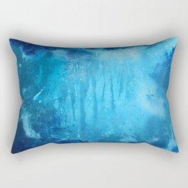Ocean art, abstract ocean , Renewed Daily Rectangular Pillow