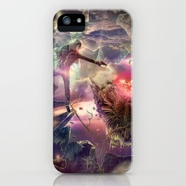 The Heart of Darkness iPhone Case