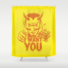 I Want You! Shower Curtain