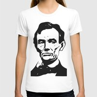lincoln T-shirts featuring LINCOLN $ by b & c