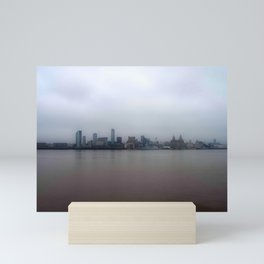 The Other side of the Mersey Mini Art Print