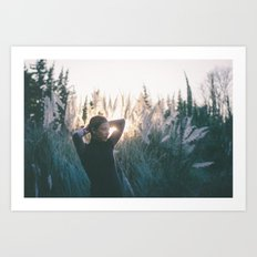 I keep trying to make it right through another lonely day Art Print