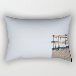 Scaffolding. Rectangular Pillow
