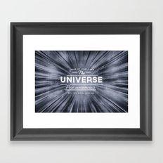 The Universe Crew Framed Art Print