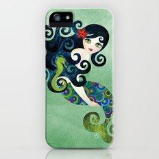 Aquamarine Mermaid Slim Case iPhone (5, 5s)