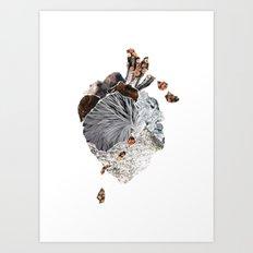 The Heart Art Print