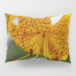 Yellow Spotted Lily by Teresa Thompson Pillow Sham