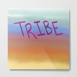 Tribe Sunset Metal Print