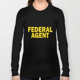 Federal Agent Police Officer Cop Atf Dea Special Usa Law T-Shirts Long Sleeve T-shirt