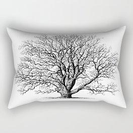 oak tree botanical no2 Rectangular Pillow