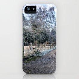 Frosty Lane iPhone Case