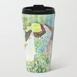 Sarayu in the Garden Travel Mug