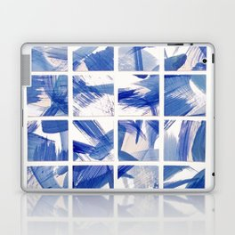 Chinoiserie Blue and White China 16 Square Tile Laptop & iPad Skin