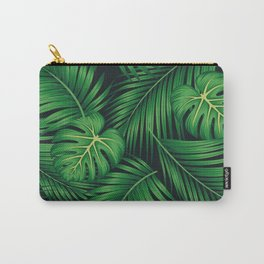 Tropical leaf illustration Carry-All Pouch