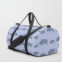 Bison And Baby (Tide) Duffle Bag