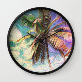 Inceptionist Palm Wall Clock
