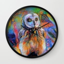 I Believe in Magic (All Proceeds Donated for Lyme Disease Research) Wall Clock