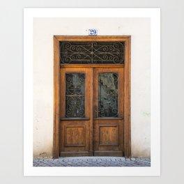 Door number twenty-nine Art Print