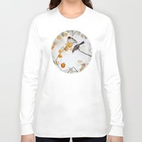 fall Long Sleeve T-shirts featuring Fall by Mai Autumn