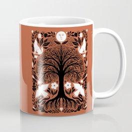 midnight forest moon Coffee Mug