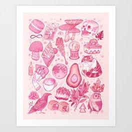 Millennial Witch Art Print