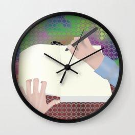 Bar Italia Wall Clock