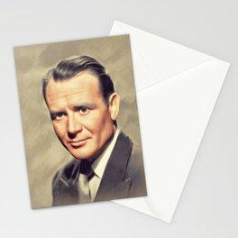 Sir John Mills, Vintage Actor Stationery Cards