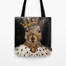 Lord Peanut (King of the Squirrels!) Tote Bag