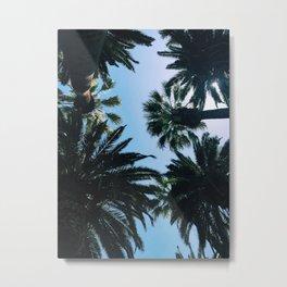 Palmy Days Metal Print