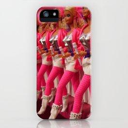 Kick Line iPhone Case