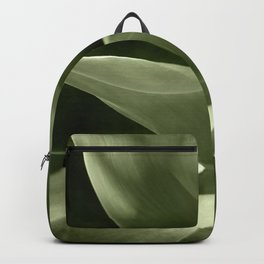 Green Agave Plant Backpack