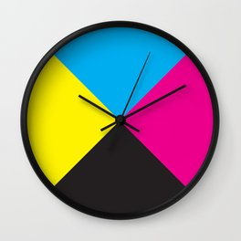 LibelluleMonde Wall Clock