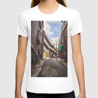 seoul T-shirts featuring Freedom Village, Seoul by Clayton Jones