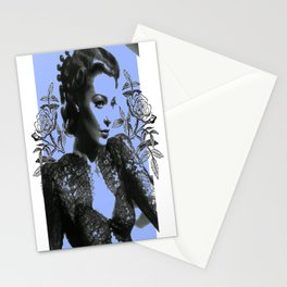 1940's Screen Siren Tattoo Art Stationery Cards