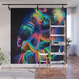 Glow Wall Mural