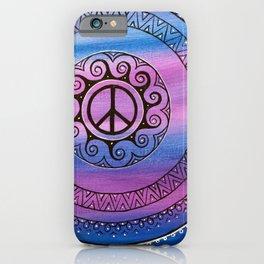 Peace II  iPhone Case
