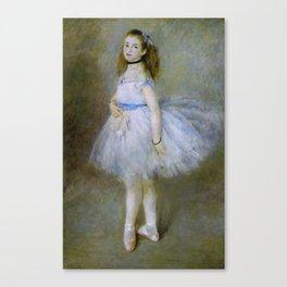 Pierre Auguste Renoir - The Dancer Canvas Print